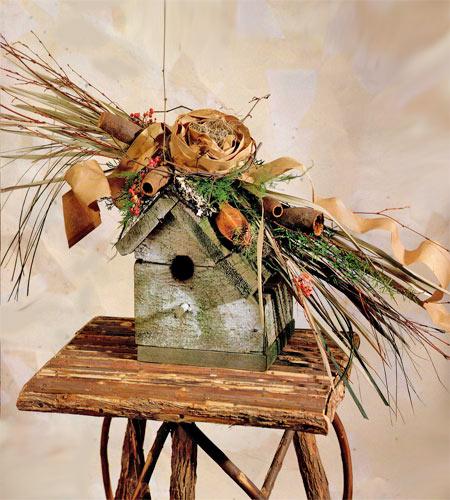 Birdhouse Arrangement