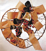 Magnolia Heart Wreath