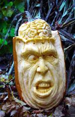 Brainiac Pumpkin