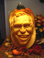 David Letterman Pumpkin