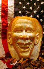 President Obama Pumpkin