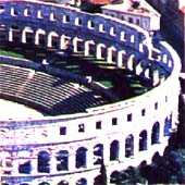 Arena in the city of Pula