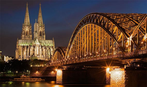 Cologne Cathedral and Hohenzollern Bridge - Photography Author Gavin Cato