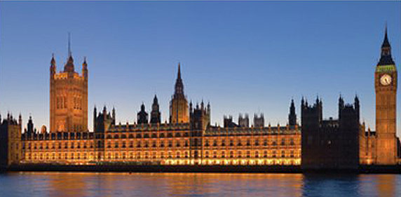 Palace of Westminster London also known as the Houses of Parliament - Photography by David Iliff