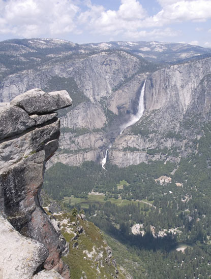 Yosemite Falls From the Glacier Point